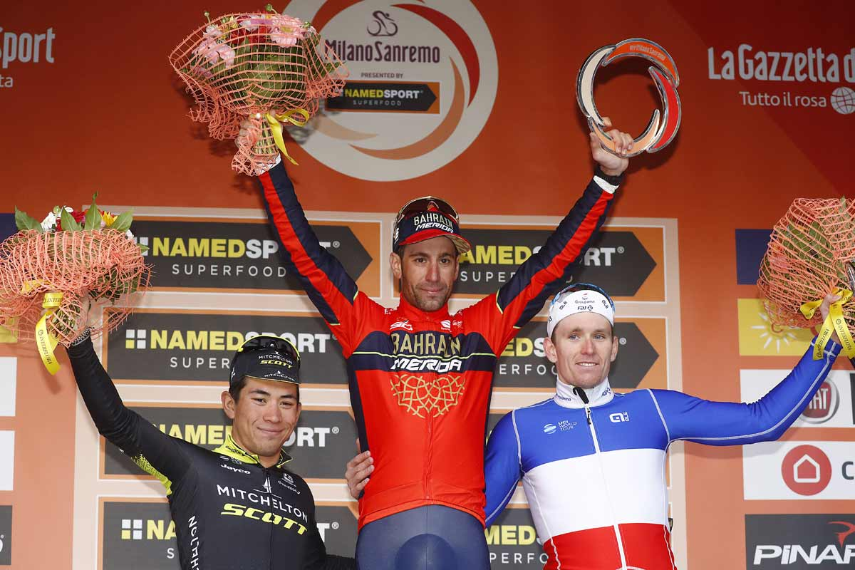 Mailand-Sanremo2018--VNibali-podium-bettiniphoto-originali