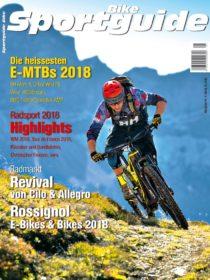 Sportguide Bike, 1/2018, Cover