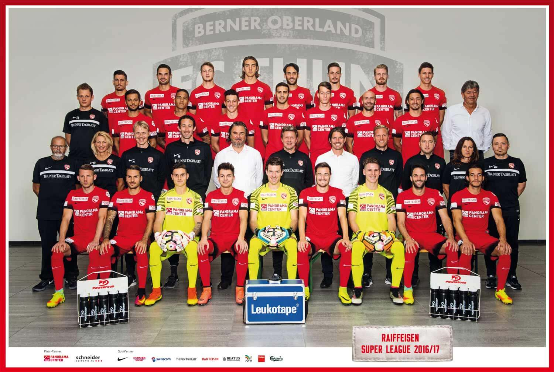 FC Thun, Saison 2016-17
