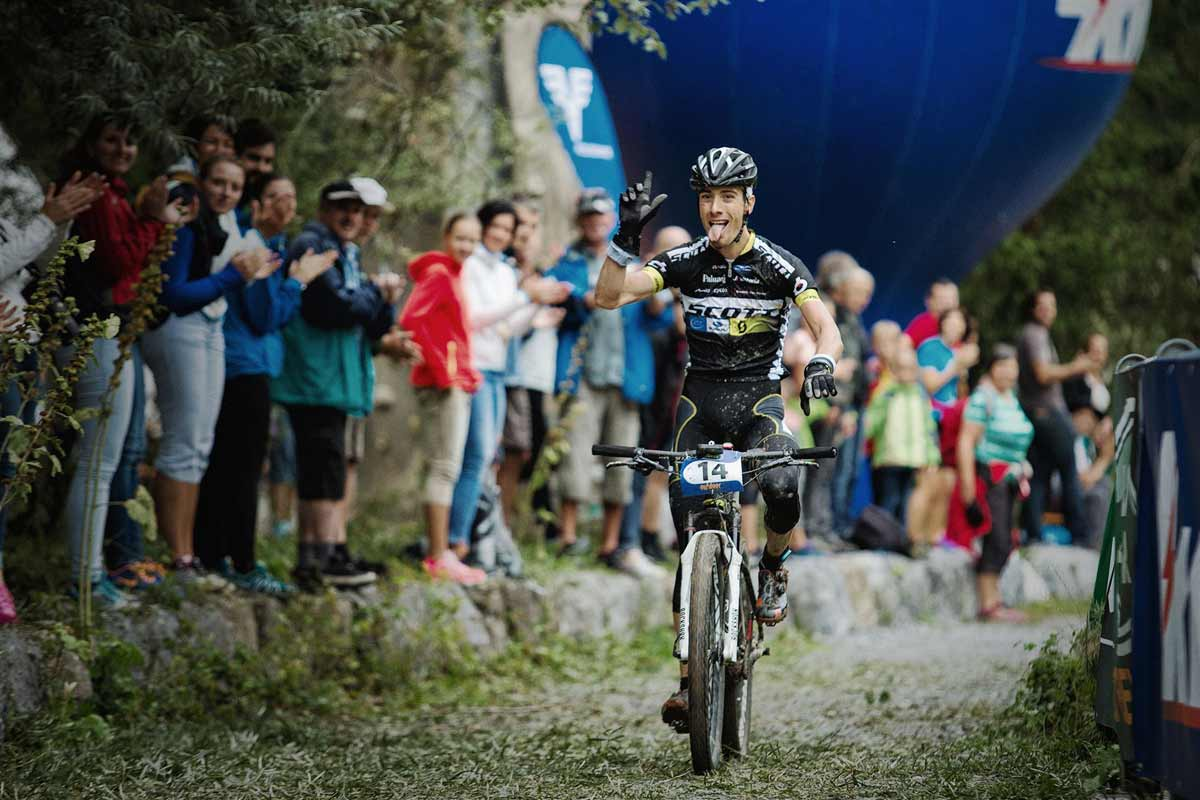 Mountainbike-outdoortrophy