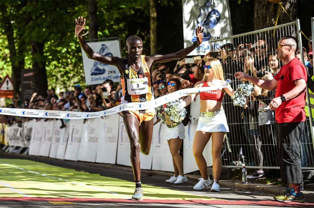 Sieger Tonui, Zürich Marathon 2017