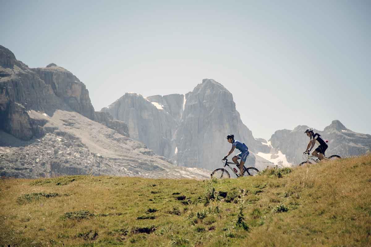 Biketour Trentino, Murmertieltour Brenta Dolomiten