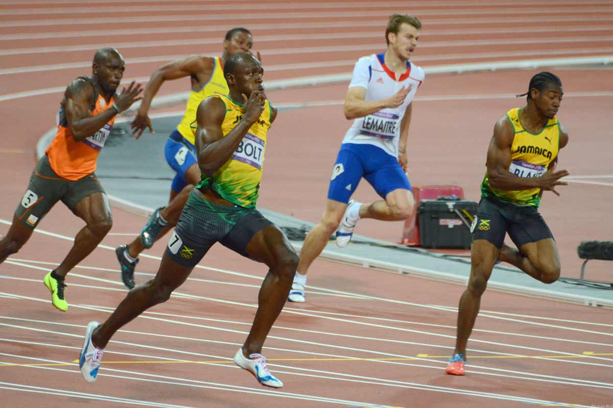 Usain Bolt, Olympiade 200 m, Finallauf