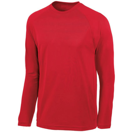 adidas-mens-climalite-long-sleeve-jersey-volleyball-mens-jerseys-red
