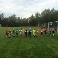 Sportings fotbollsskola kör igång
