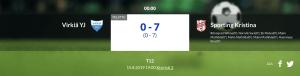 Läs mer om artikeln F12 Virkiä YJ – Sporting Kristina 0-7