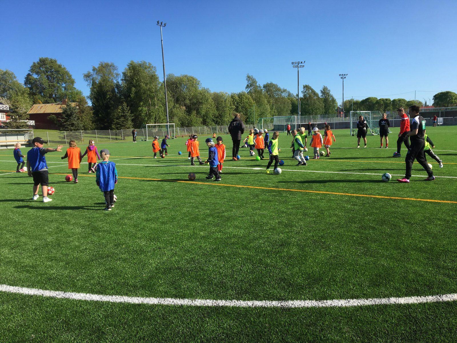 Läs mer om artikeln Fotbollsskola för barn födda 2014-2016, 6.6. kl 18-19