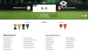 Läs mer om artikeln F13 WFA/Solf IK YJ – Sporting Kristina