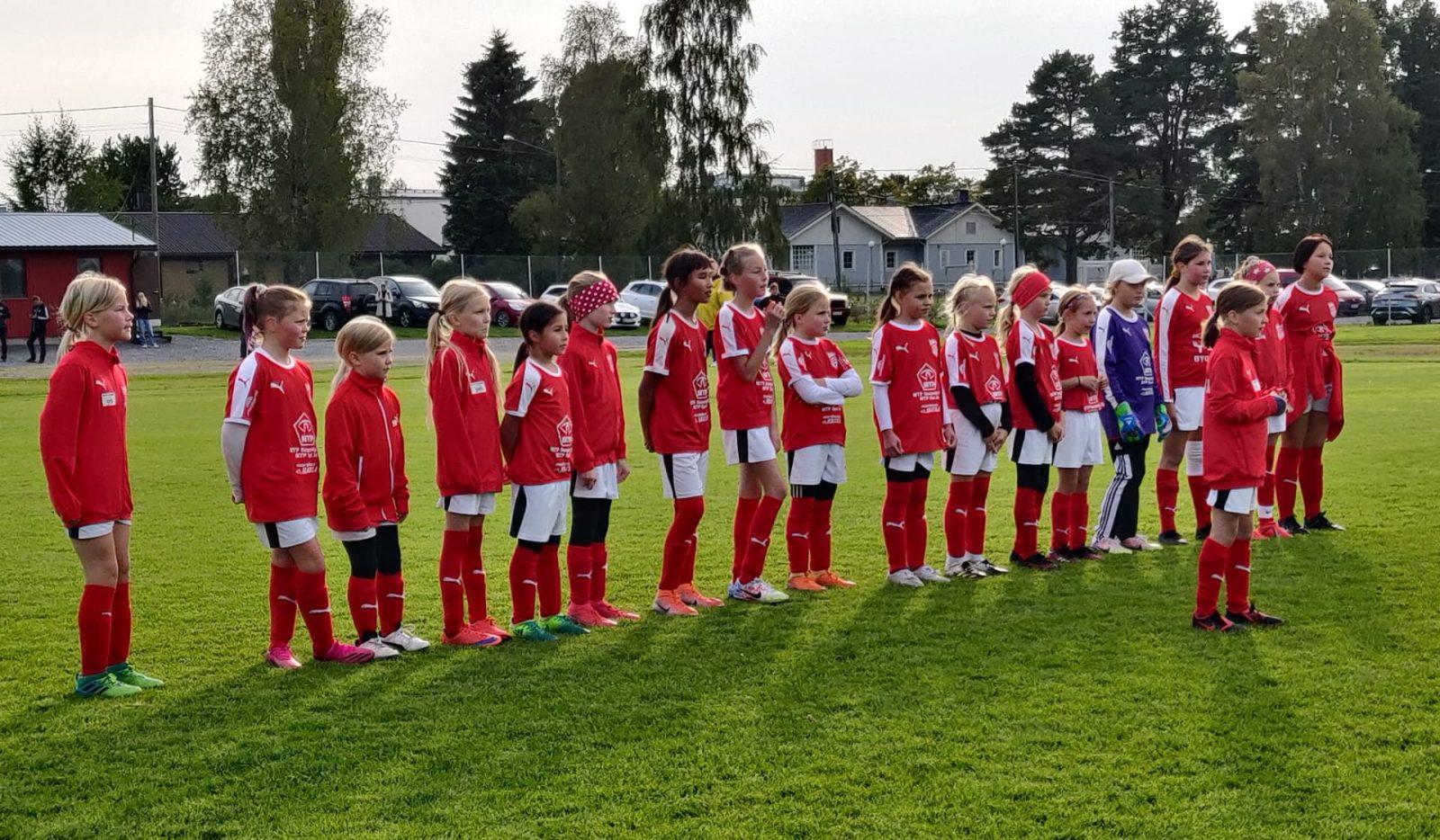 Read more about the article Sporting T10 pelasi Juniorcupissa eilen 24.8.2021