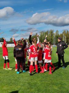 Läs mer om artikeln F11 spelade säsongens sista seriematcher i Jalasjärvi idag