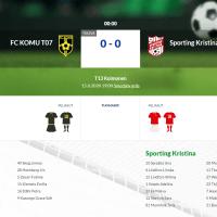 G13 FC KOMU - Sporting Kristina