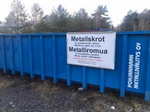 Read more about the article Sporting Kristina kerää metalliromua