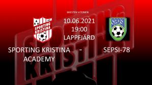 Läs mer om artikeln Sporting Kristina Academy – SEPSI-78. Torsdag 10.6 Kl. 19.00