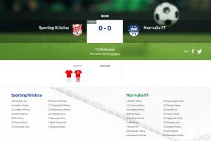 Läs mer om artikeln F13 Sporting Kristina – Norrvalla FF