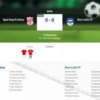 F13 Sporting Kristina - Norrvalla FF