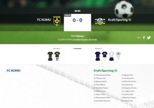 Läs mer om artikeln F15 FC KOMU – Kraft/Sporting YJ
