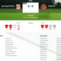 Sporting Kristina - Kaskö IK