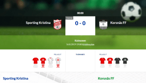 Read more about the article Sporting Kristina – Korsnäs FF
