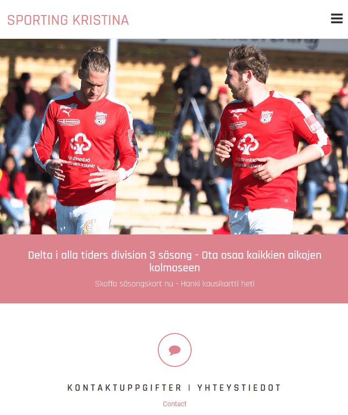 Read more about the article sportingkristina.com uudistuu