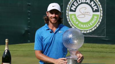 Nedbank Golf Challenge: Tommy Fleetwood ends 22-month wait for victory to claim South Africa