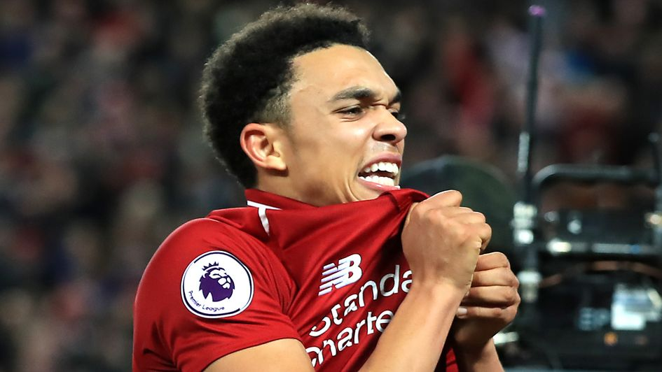 Trent Alexander-Arnold - signed new contract