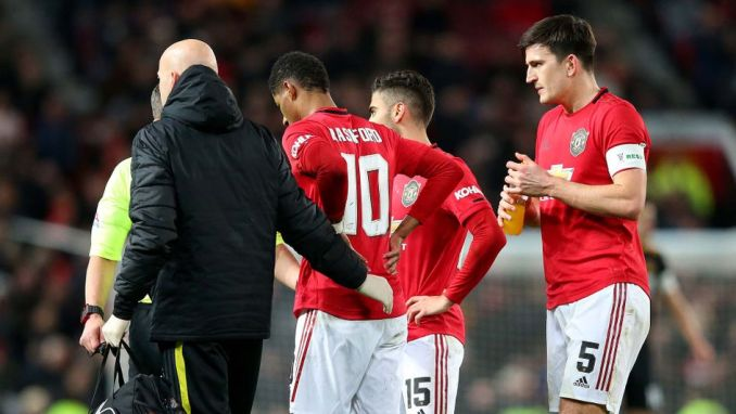 Image result for Man United's Rashford out for six weeks