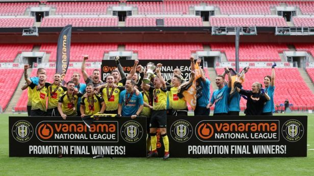 Harrogate Town 3-1 Notts County: Simon Weaver's side promoted to ...