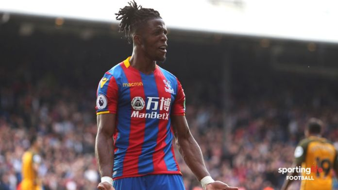 Wilfried Zaha is a star for Crystal Palace