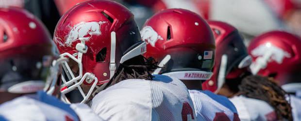 Arkansas Razorbacks Spring Game 2014
