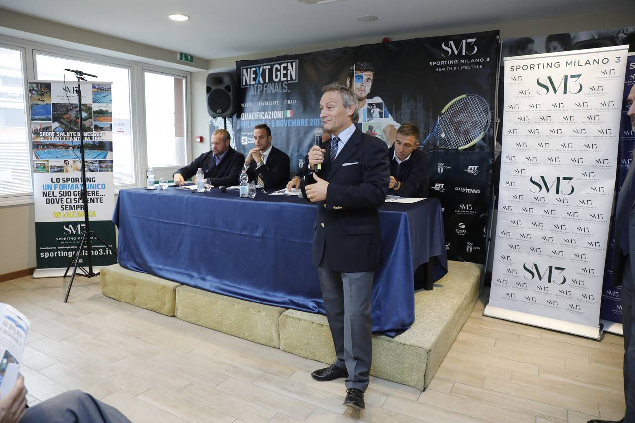 Conferenza Stampa Next Gen Atp
