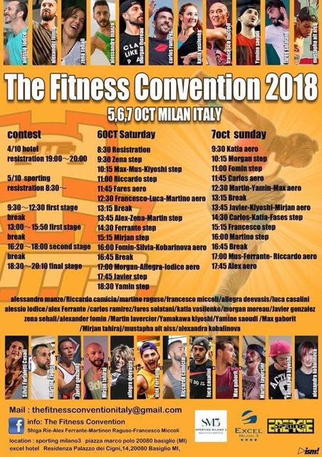 The fitness convention