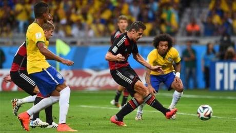 Cat castigai daca pariai Brazilia-Germania 1-7