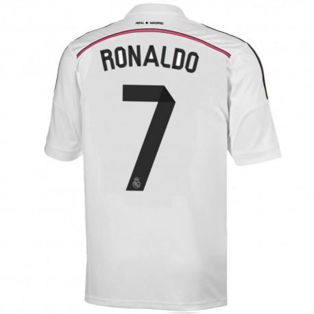real madrid cf home fussball trikot 2014 15 ronaldo 7 adidas sportingplus passion for sport