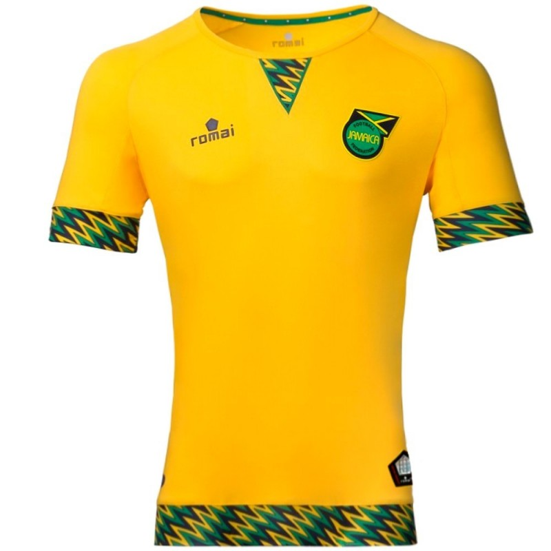Jamaica National Team Home Football Shirt 201617 Romai