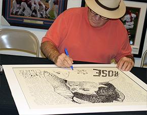 Pete Rose Signing