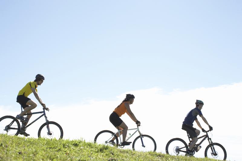 Cinco alimentos ideales para salir en bici