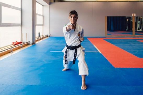 Aprende karate con la campeona Sandra Sánchez