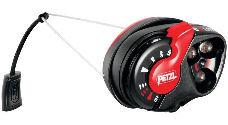 Prova – Lampada frontale Petzl E+Lite