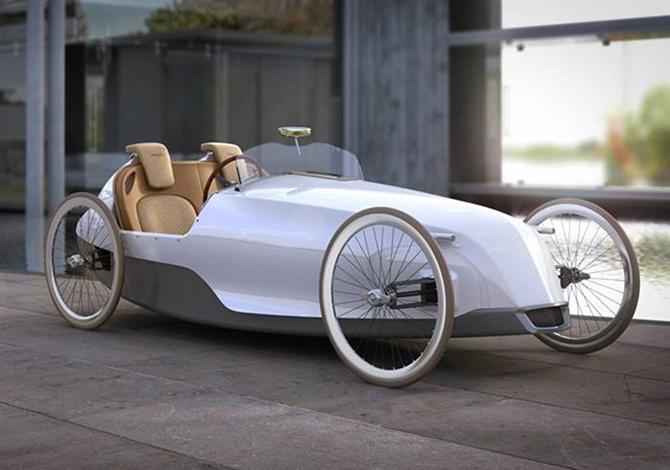 SC1 Biposto, la macchina a pedali per adulti rimasti bambini