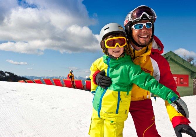 Le migliori piste da sci per i bambini