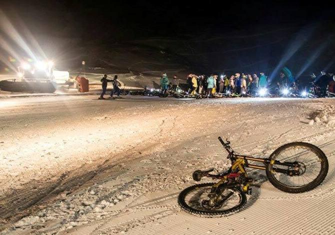 Winter Moonlight DH Race