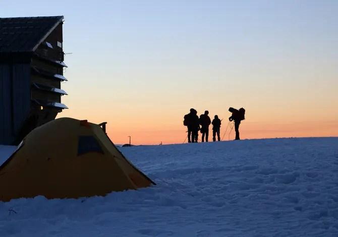 Dormire in tenda ai 3585 metri del Monte Rosa