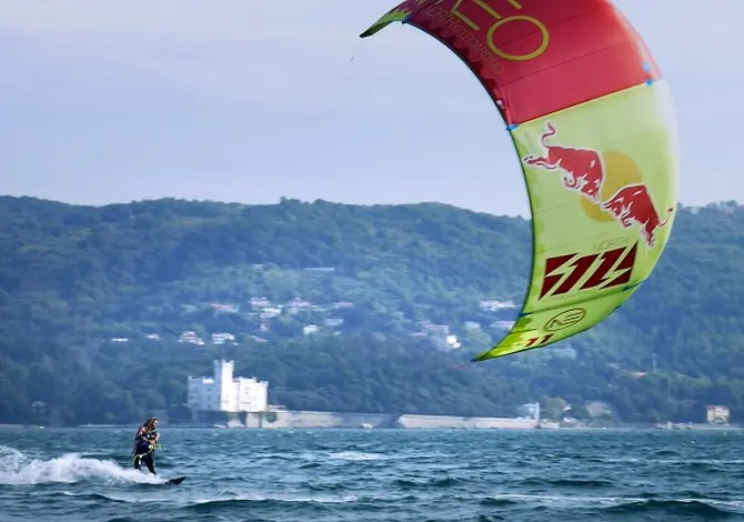 Kite, paddle e Barcolana con Airton Cozzolino