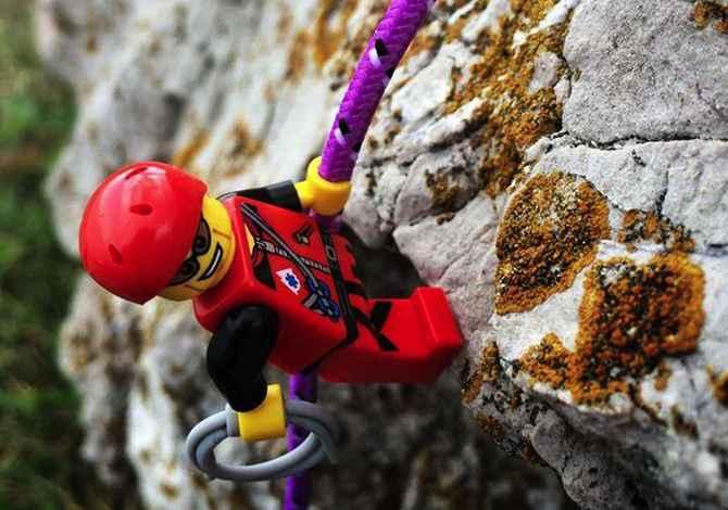 Le avventure outdoor di Legography