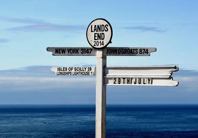 Land's End John O'Groats