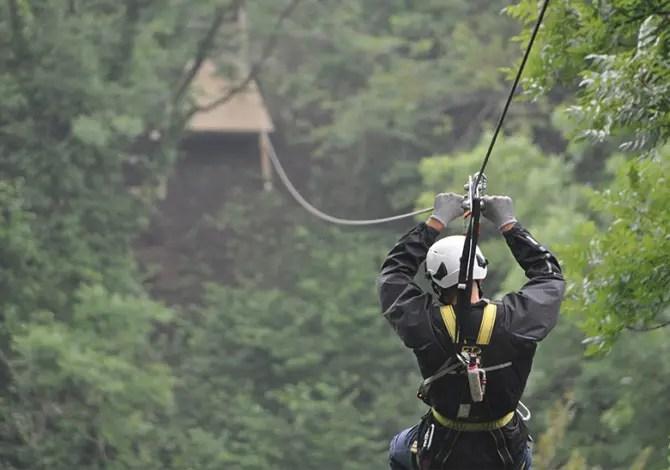 Jungle Raider Park Xtreme, adrenalina in mezzo ai boschi