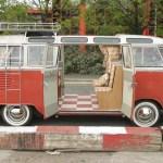 Volkswagen T1 Samba Bus - Credits: Evan Grant