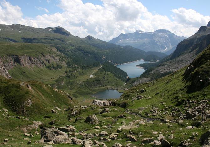 Alpe Devero Panorama sui laghi di Pianboglio e Codelago