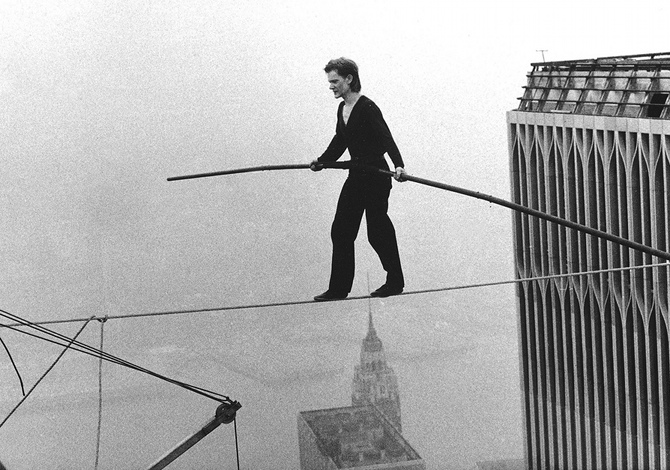 Philippe Petit The Walk Twin Towers