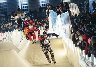 Ice Crash Downhill